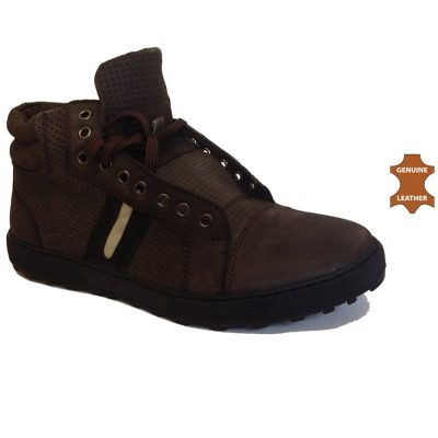 f37fefb28b1e KLD1506 -Coffee- Men's Leather Ankle High Shoes